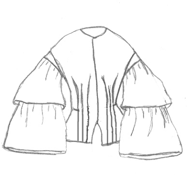 1850's Basque Jacket